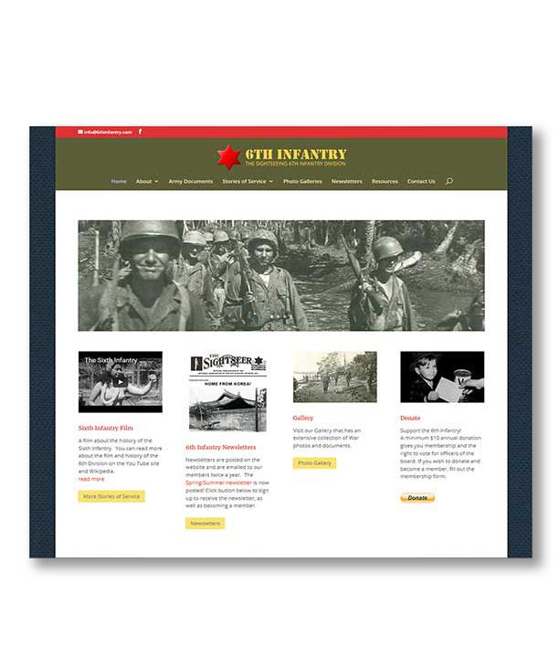 6th Infantry Website